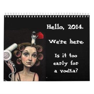 2014 Bloggess Calendar