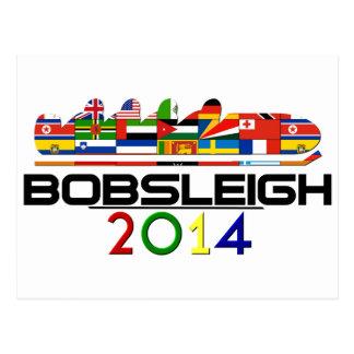 2014 Bobsleigh Postcard