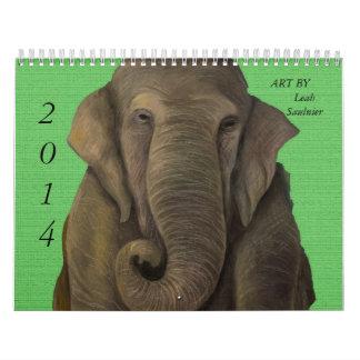 2014 Calendar Art By Leah Saulnier