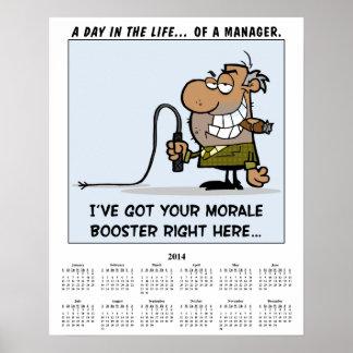 2014 Calendar Morale Booster Poster