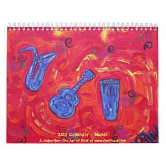 2014 Calendar ~ Music