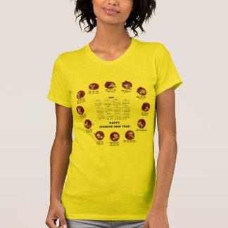 2014 Chinese Zodiac Happy Chinese New Year Clndr T-shirt
