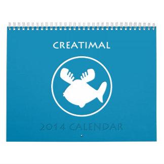 2014 Creatimal Calendar