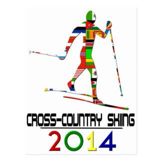 2014: Cross-Country Skiing Postcard
