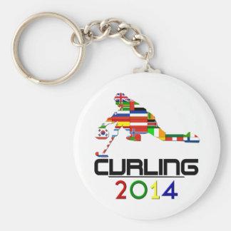 2014: Curling Key Ring