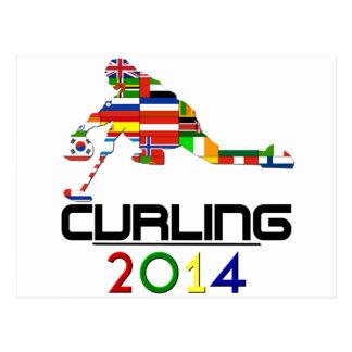 2014 Curling Postcards