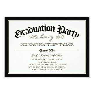 2014 Diploma Graduation Party Invitation