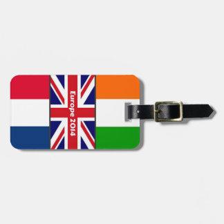 2014 Europe Luggage Tag