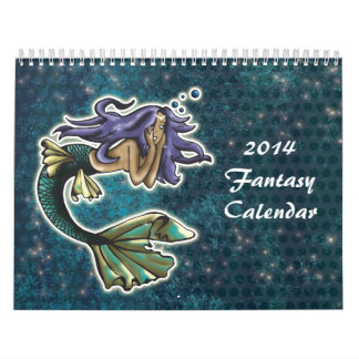 2014 Fantasy Wall Calendars