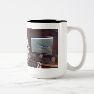 2014 Fly Girls Bessie Coleman Collection Two-Tone Mug