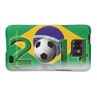 2014 Football Cup Samsung Galaxy SII Cover