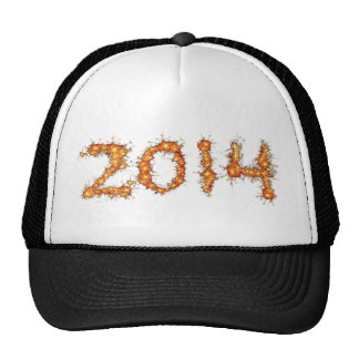 2014 Gold Sparkler New Year's Eve Party Hat