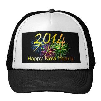 2014 Happy New Year's Trucker Hat