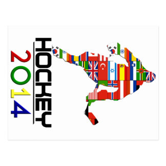 2014: Hockey Postcard