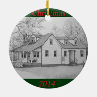 2014 House Christmas Ornament