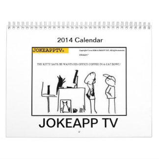 2014  JokeAppTv Cartoon Calendar
