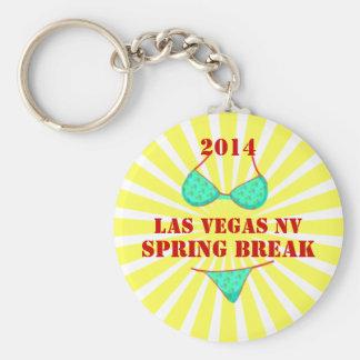 2014 Las Vegas Spring Break Souvenir Keychain