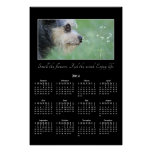 2014 Make Time to Enjoy Life Year Wall Calendar Posters