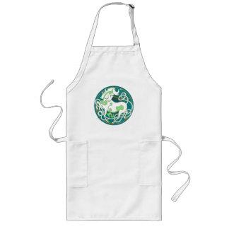 2014 Mink Chef: Unicorn Apron - Green/White