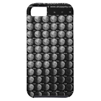 2014 Moon Phase Calendar Northern Hemisphere.png iPhone 5 Cover