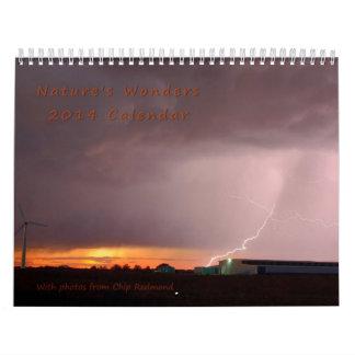 2014 Nature's Wonder Calendar