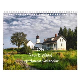 2014 New England Lighthouse Calendar