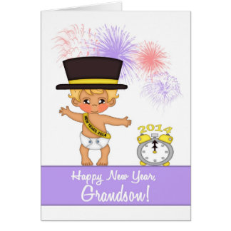 2014 New Year Card for Grandson