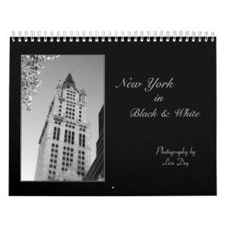 2014 'New York in Black & White'  Calendar