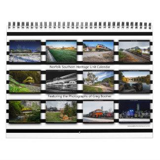 2014 Norfolk Southern Heritage Calendar