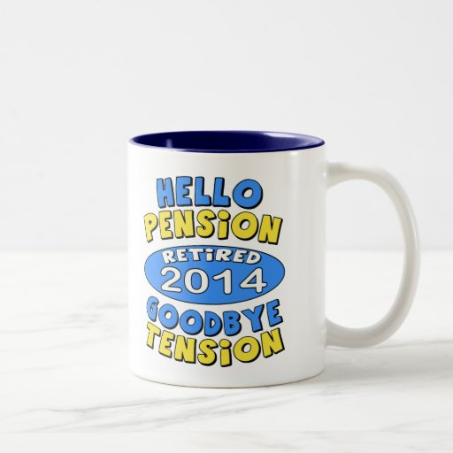 2014 Retirement Coffee Mugs