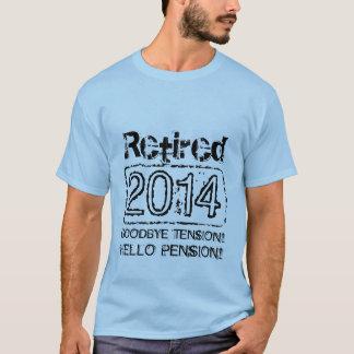 2014 Retirement tee shirts for retiring men
