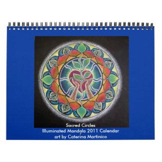 2014 Sacred Circles Illuminated Mandala 2013 Calendar