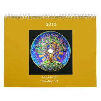 2014 Sacred Circles  Mandala Art  Calendar