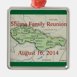 2014 Shema  Reunion Christmas Ornament Keepsake