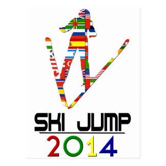 2014 Ski Jump Postcard