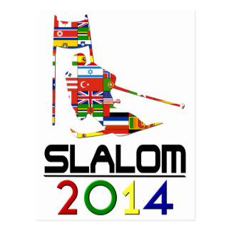 2014: Slalom Postcard