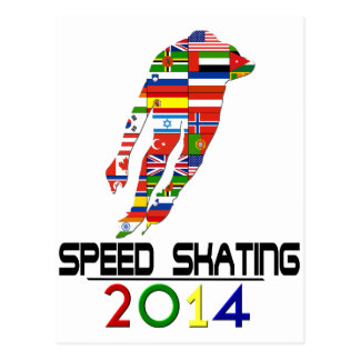 2014 Speed Skating Post Cards