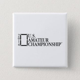 2014 U.S. Amateur Championship 15 Cm Square Badge