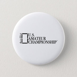 2014 U.S. Amateur Championship 6 Cm Round Badge