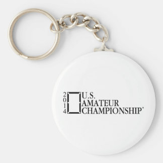 2014 U.S. Amateur Championship Basic Round Button Key Ring
