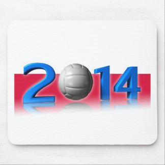 2014 Volley balls World Championship Mousepad