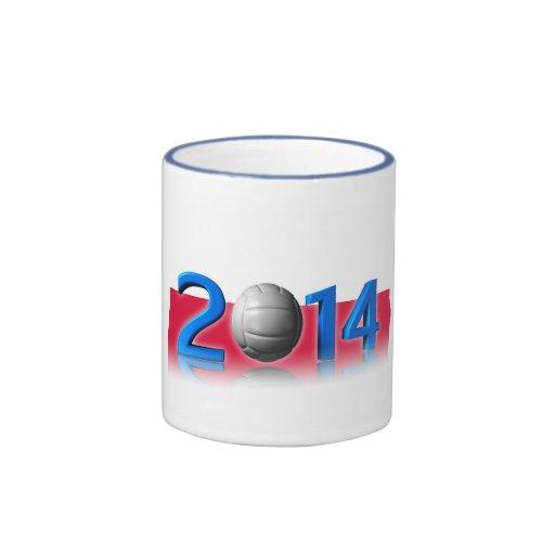 2014 Volley balls World Championship Mugs
