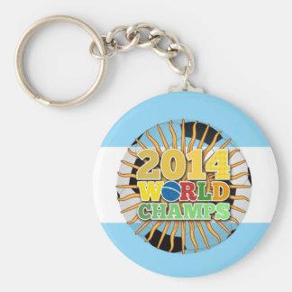 2014 World Champs Ball - Argentina Keychain