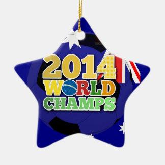2014 World Champs Ball - Australia Ornaments