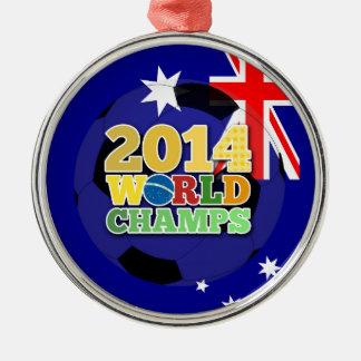 2014 World Champs Ball - Australia Christmas Ornaments