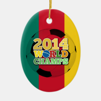 2014 World Champs Ball - Cameroon Christmas Tree Ornaments