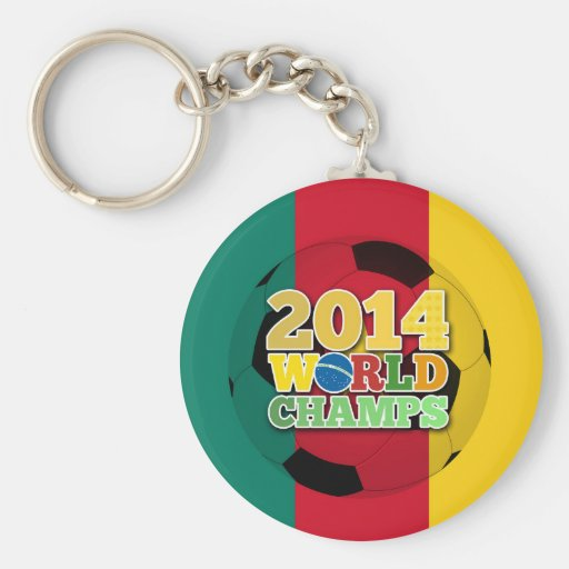 2014 World Champs Ball - Cameroon Key Chains