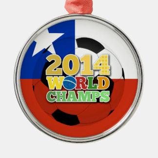 2014 World Champs Ball - Chile Ornament
