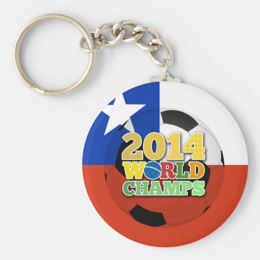 2014 World Champs Ball - Chile Keychain