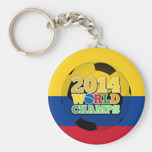 2014 World Champs Ball - Colombia Keychains